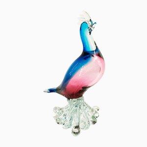 Uccellino vintage in vetro di Murano, anni '60
