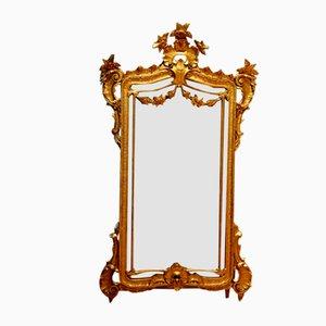Italian Gold Mirror, 1850s