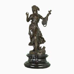 Bronze Fioraia Statue, 1800s