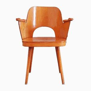 No. 515 Armlehnstuhl von Oswald Haerdtl für Thonet, 1950er