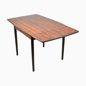 Mid-Century Extendable Rosewood Dining Table by Poul Hundevad for Hundevad & Co.