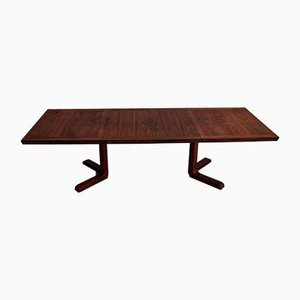 Large Rosewood Extendable Dining Table, 1960s