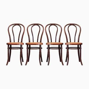 No. 18 Dining Chairs from Mundus / Josef Hofmann, 1920s, Set of 4