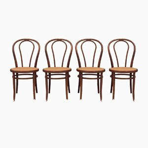 Antique No.18 Dining Chairs, Set of 4