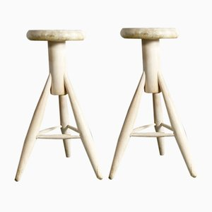 Rocket Stools by Eero Aarnio for Artek, 1990s, Set of 2