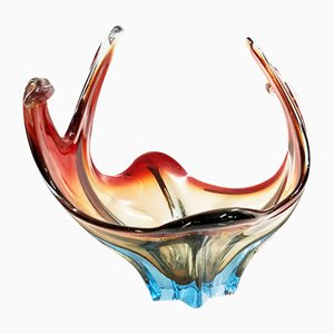 Vintage Red Murano Glass, 1960s
