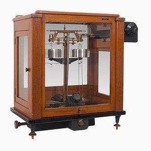 English Mahogany Scientific Balance from Stanton Instruments, 1960s