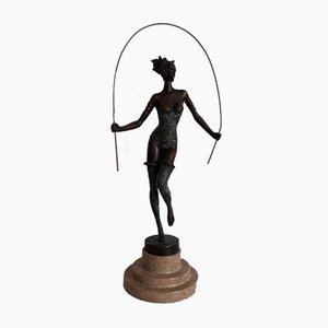 Chica de cuerda de bronce de Milo para JB Deposee, Paris