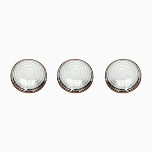 Italian Postmodern Pantarei Wall Lamps by Ernesto Gismondi for Artemide, Set of 3