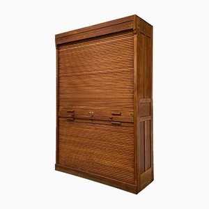 Roller Shutter Cabinet from Jerry Company, 1920s