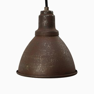 Small Mid-Century Industrial Metal Ceiling Lamp