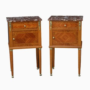 Bedside Cabinets, 1800s, Set of 2