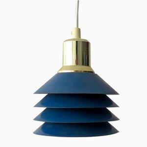 Kleine dänische Siam Deckenlampe von Danish Lights, 1980er