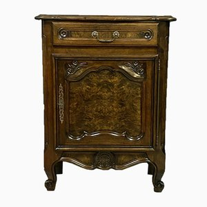 Louis XV Period Elm & Walnut Chest of Drawers, 1940s