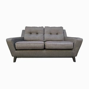 Contemporary 2-Seater Gray The Fifty Three Sofa from G-Plan
