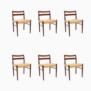 Danish Dining Chairs by Soren Willasden, 1960s, Set of 6