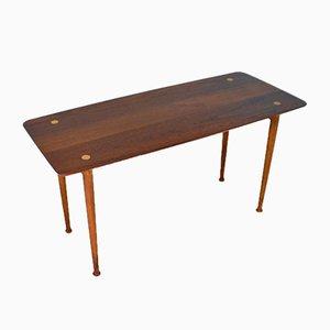 Mid-Century Danish Solid Teak Side Table