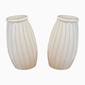 Murano Glass Table Lamps, 1970s, Set of 2
