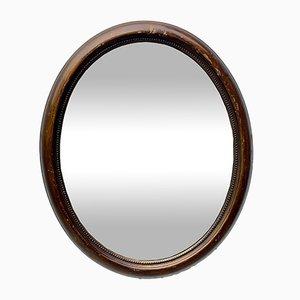 Specchio da parete vintage ovale