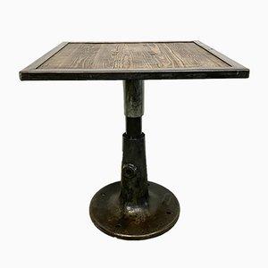 Tavolino da caffè industriale quadrato, anni '60
