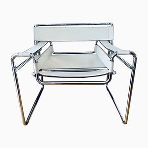 Mid-Century Wassily B3 Lounge Chair by Marcel Breuer for Gavina, 1960