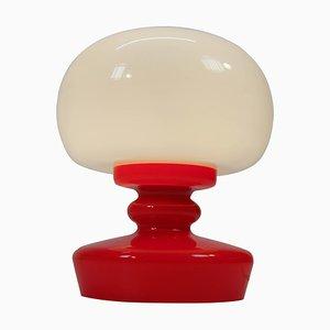 All Glass Table Lamp by Valasske Mezirici, 1970s