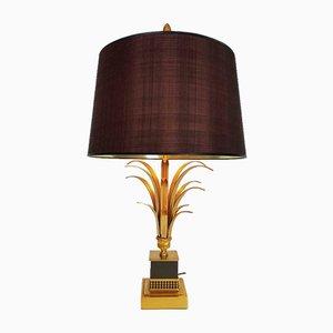 Regency Brass Sciolari Palm Table Lamp, 1960s
