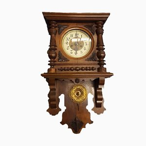 Antique Wall Clock with Winding