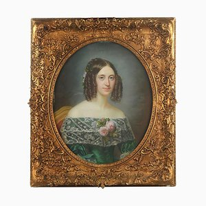 Henrietta Virginia, Dautel, 1848, Pastell