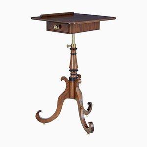 Early 19th Century Small Metamorphic Mahogany Inlaid Table