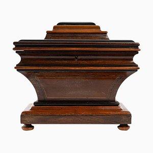 Holzkiste im Charles X Stil