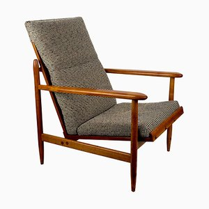 Armchair from Uluv in Cherry Wood, 1960