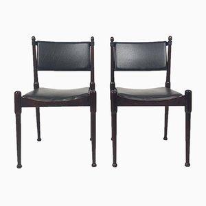 Sedie in stile Silvio Coppola, anni '60, set di 2