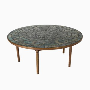 Stoneware Coffee Table by Bjorn Wiinblad