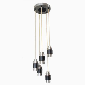 Vintage Scandinavian Aluminium Pendant Lamp by Fog and Mørup