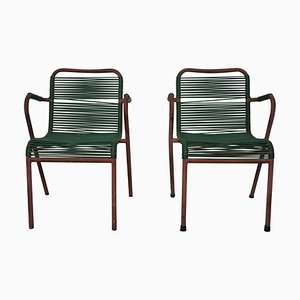 Bar Chairs, 1950s, Set of 2