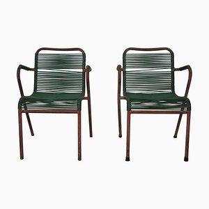 Chaises de Bar, 1950s, Set de 2