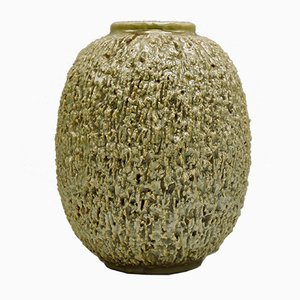 Große Chamotte-Vase von Gunnar Nylund für Rörstrand, 1940er
