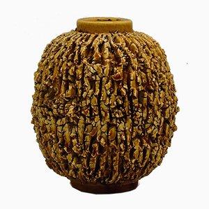 Kleine Chamotte Vase von Gunnar Nylund