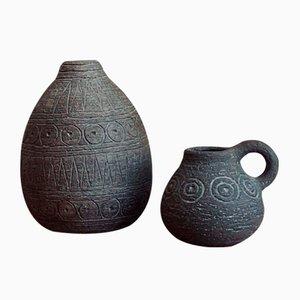 Vasen von Elsi Bourelius, 2er Set