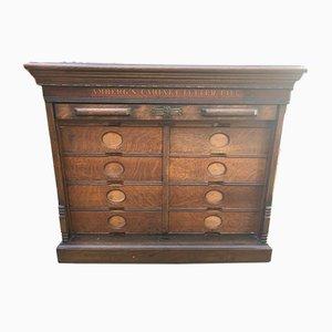 Ambergs Walnut Burl Cabinet