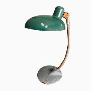 Industrielle Deutsche Schwanenhals Schreibtischlampe, 1940er