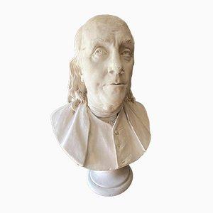 Bust of Benjamin Franklin by Jean Antoine Houdon