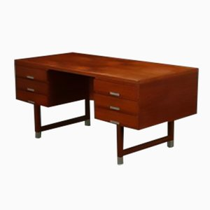 Teak Desk by Kai Kristiansen for Schou Andersen, 1950s