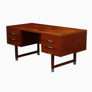 Teak Desk by Kai Kristiansen for Schou Andersen, 1950s