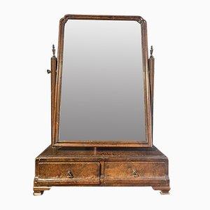 Specchio Giorgio I in noce con vetro originale, 1720