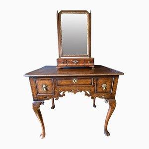 George I Mahogany Mirror, 1735