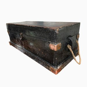 Antique Industrial Trunk, 1900s