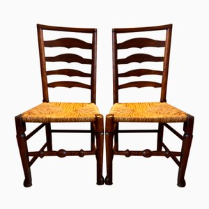 Early Macclesfield Country Chairs, Set of 2