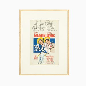Window Card The Stooge by Dean Martin & Jerry Lewis